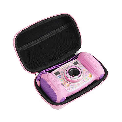 Hard EVA Carrying Case for VTech Kidizoom Camera Pix by Hermitshell (Pink)