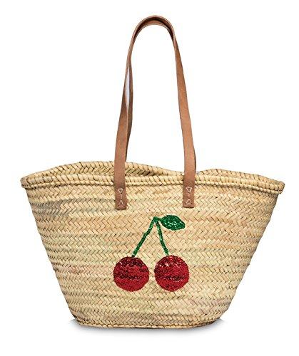 Beachtasche Strandtasche Fa Frauen Bowatex Trendige Badetasche Freizeittasche Schultertasche Bag Damen Shopper 4HUxxwt