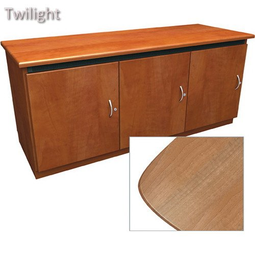 Middle Atlantic Contemporary-Style Finishing Kit for Deep Credenza Rack (Light - Credenza Atlantic Middle