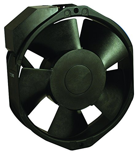NMB TECHNOLOGIES 15038PB-B0L-EP-00 Axial Fan, 15038PB Series, 200 V, AC, 172 mm, 38 mm, 56 dBA, 212 cu.ft/min