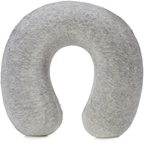 AmazonBasics Memory Foam Neck Pillow, Grey
