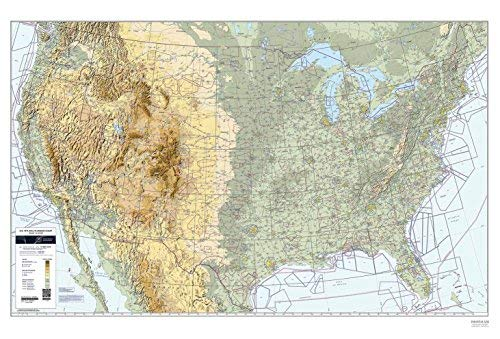 Used, FAA Chart: U.S. VFR Wall Planning Chart (Flat) VFRWPC for sale  Delivered anywhere in USA