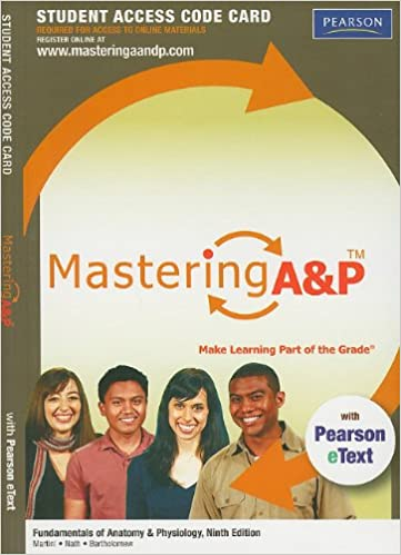 Buy MasteringA&P with Pearson eText -- Standalone Access Card -- for ...