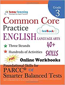 Amazon common core practice 3rd grade english language arts amazon common core practice 3rd grade english language arts workbooks to prepare for the parcc or smarter balanced test ccss aligned ccss fandeluxe Images