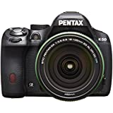 Pentax K-50 16MP Digital SLR with 18-135mm Lens (Black) - International Version