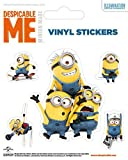 Despicable Me Sticker Adhesive Decal - Minions Made (5 x 4 inches)