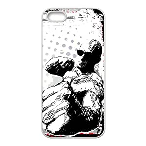 Boxing Pattern Custom Protective Hard Phone Cae For Iphone 5s