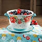The Pioneer Woman Flea Market Ceramic Colander