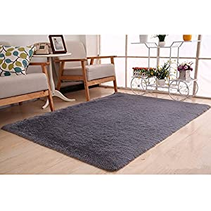 Zah coral fleeces doormat living dining room for Living room rugs amazon