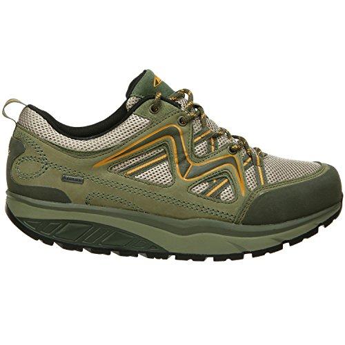 Military MBT Chaussures Yellow Lacets Pour Vert Femme Ville de à 68qr6f