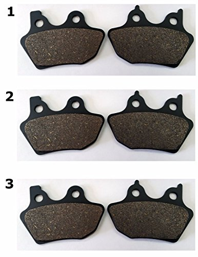 - 3 Sets of 2003 HARLEY XL 883R 100TH ANNIVERSARY EDITION FRONT & REAR BRAKES ACM400/FA400