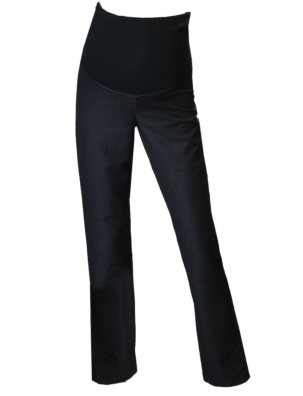 Rose Pixie Top Qualit/é Smart Formelle Travail de Bureau FuturaLondon Maternit/é Grossesse FuturaLondon Fin Pantalon Long