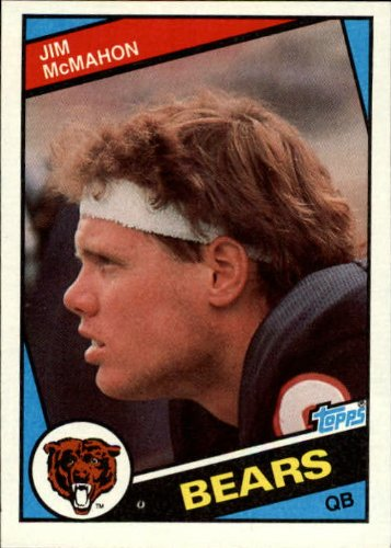 Jim Mcmahon Football - 1