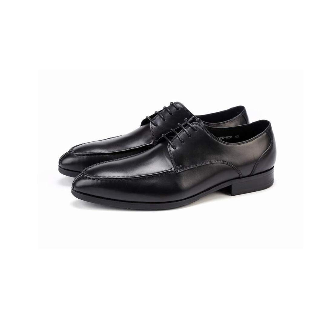 Zaqxs Mens Genuine Imported Leather with Rubber Sole Goodyear Welted Oxford Dress Shoes