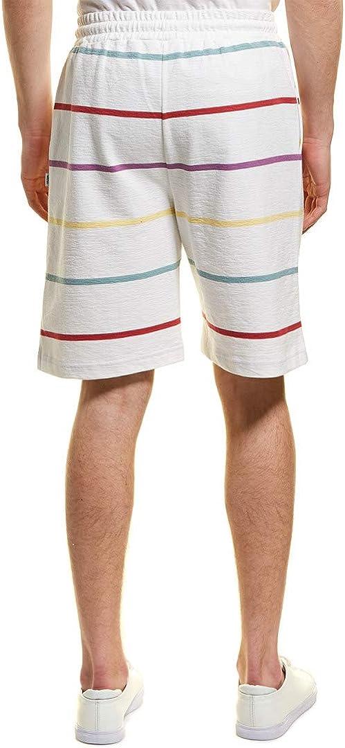 WeSC Mens Mason Yarn Dye Short L White