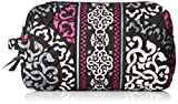 Vera Bradley Large Cosmetic Bag (Canterberry Magenta)