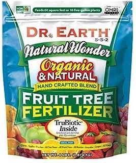 product image for DR EARTH Natural Wonder Fruit Tree 5-5-2 Fertilizer 4LB Bag - New Package for 2020