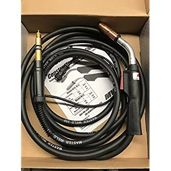 Masterweld Miller 250 amp 169597 Mig Welding Gun Torch Stinger M-25 20 ft M25