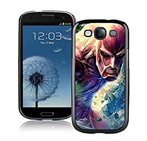 Easy use Attack on Titan 4 Black For SamSung Galaxy S6 Case Cover Case