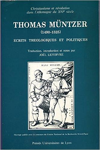 Télécharger en ligne Ecrits théologiques et politiques pdf ebook