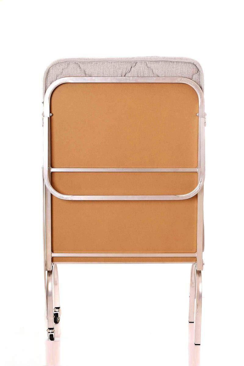 Comfortable Mattress Guest Bed Folding Bed Lightweight Easy Rester Single Mattress Single Bed Aluminium Frame