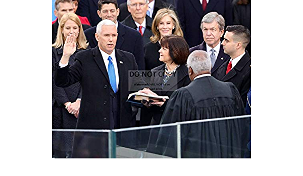 ZY-723 bucraft Mike Pence is Sworn in AS 48TH VICE President of The U.S 8X10 Photo