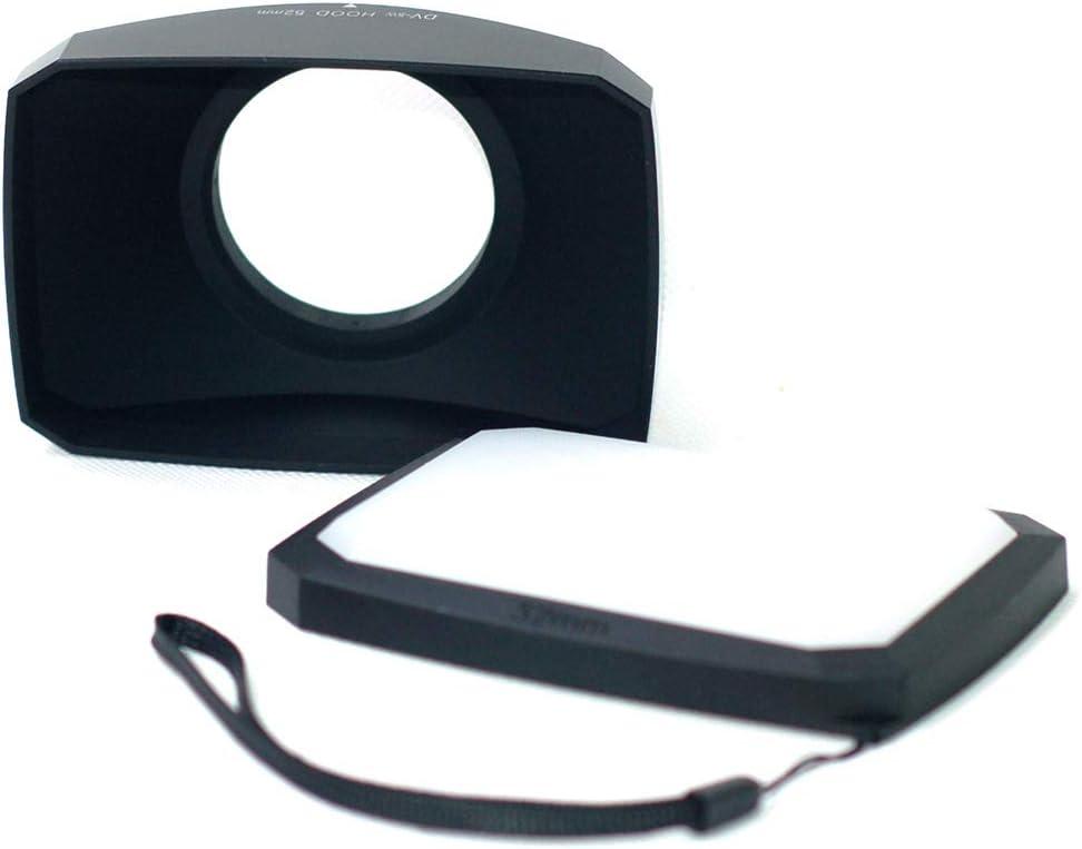 Parasol de Gran Angular 16:9 Compatible con Sony FDR AX33//b Accesorios de videoc/ámara