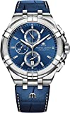 Maurice Lacroix Aikon Chrono Quartz Watch, Chronograph, 44mm, AI1018-SS00-430-1