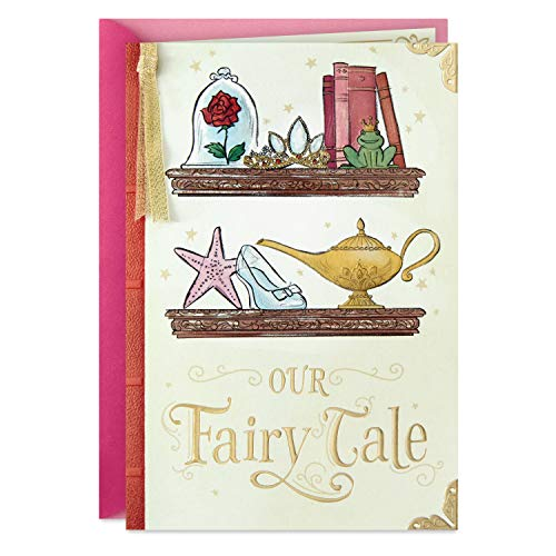 Hallmark Disney Valentines Day Card, Anniversary Card, or Love Card (Our Fairy Tale)