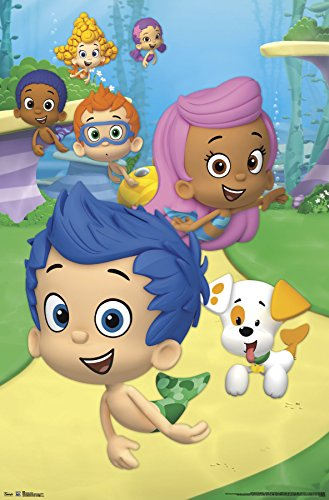 Trends International Bubble Guppies Group Wall Poster 22.375