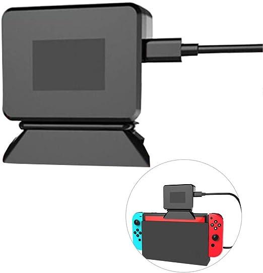 YUYOUG Unidad Principal Radiador Base con Ventilador de refrigeración para Nintendo Switch Game disipador de Calor: Amazon.es: Hogar