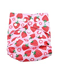 Reusable Baby Infant Swim Nappies Diaper Newborn Swimwear Bathing Suit Washable Pocket Cloth Size Adjustable Hook Loop Operating System (BL006)