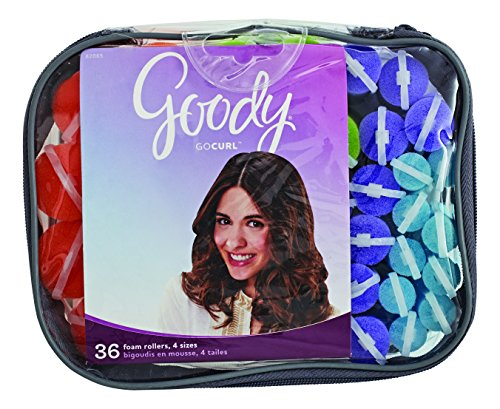 Goody Styling Essentials Foam Hair Roller, Mega Pack, 36 Count