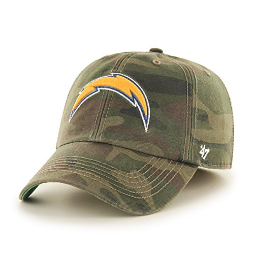 (NFL San Diego Chargers Harlan Franchise Fitted Hat, Large, Sandalwood)