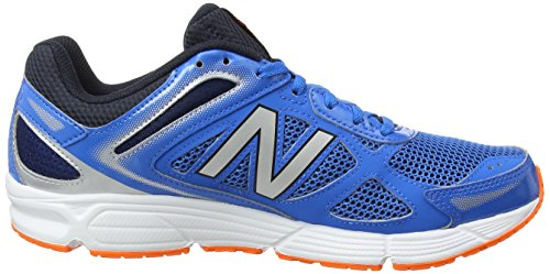 New Balance Herren, Funktionsschuh, M460 Running Fitness, Blau (Blue/Grey), 44