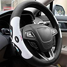 Car Steering Wheel Cover Environmental Protection Inner Ring Non-Slip Four Seasons Universal Cute Cartoon Cover 15 Inch / 38 cm