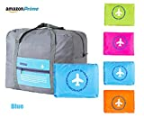 Travel Duffel Bag for Men Women Hi,Hello Foldable Duffle For Luggage Gym Sports Blue