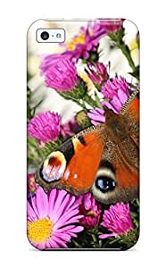linJUN FENGFirst-class Case Cover For iphone 4/4s Dual Protection Cover Peacock Butterfly