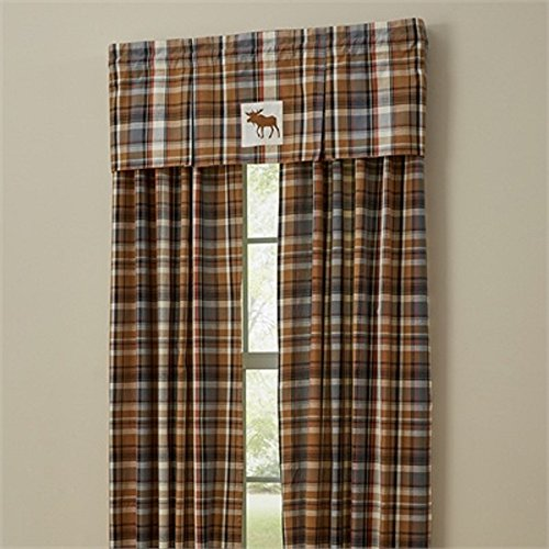 Park Design 72 Inches x 84 Inches Length Roaring Thunder Lined Panels Window Treatment (Roaring Thunder)