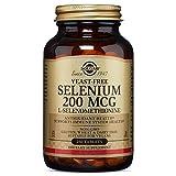 Solgar Yeast-Free Selenium Tablets, 200 Mcg, 250 Count