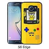 Fashion Designed Pokemon 14 Black Samsung Galaxy S6 Edge Phone Case