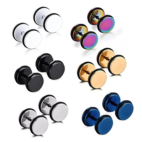 5 Pair Fashion Earrings - 9