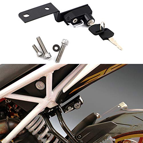 Motorcycle Helmet Lock Anti-Theft For KTM DUKE 125/250/390 2017 - -