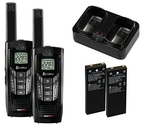Cobra CXR925 Walkie Talkies 35-Mile Two-Way Radios with microTalk (Pair)