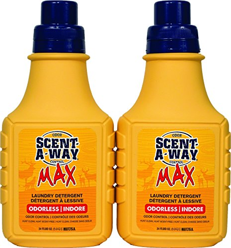 Hunters Specialties Odorless Scent-A-Way Detergent Spray, 48 oz ()