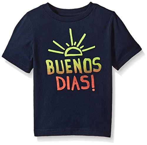The Children's Place Baby Toddler Boys' Spanish Graphic T-Shirt, Tidal, 3T