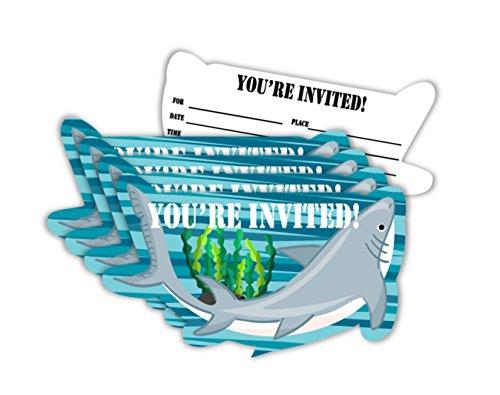 shark invitations - 3