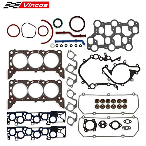 Head Gasket Set Replacement For Ford 3.8L Compatible with Mustang F150 E150 E250 1999-2004 4.2L (1999 Ford F 150 Engine 4-2 L V6)