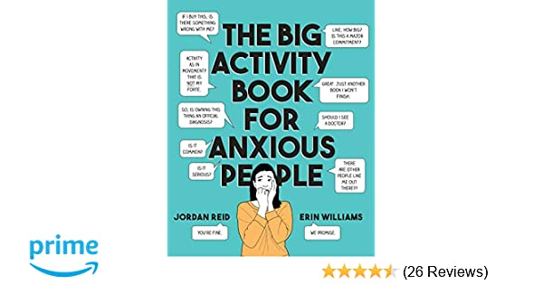 Amazon com: The Big Activity Book for Anxious People