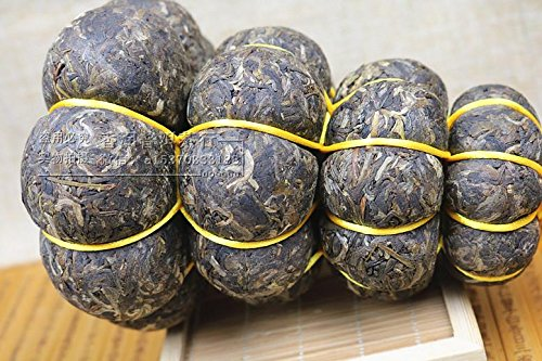 Aseus Yunnan Jingua tribute tea 1000g grams of high-end gift tea Mini pumpkin Pu'er Tea gift bag mail by Aseus-Ltd
